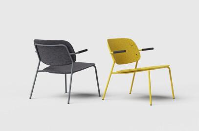 Hale PET Felt Lounge Chair
