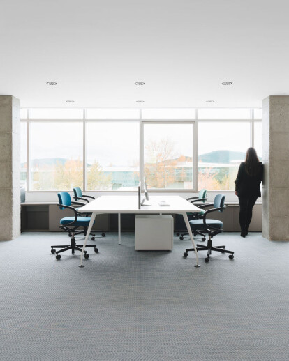 The Movistar team offices