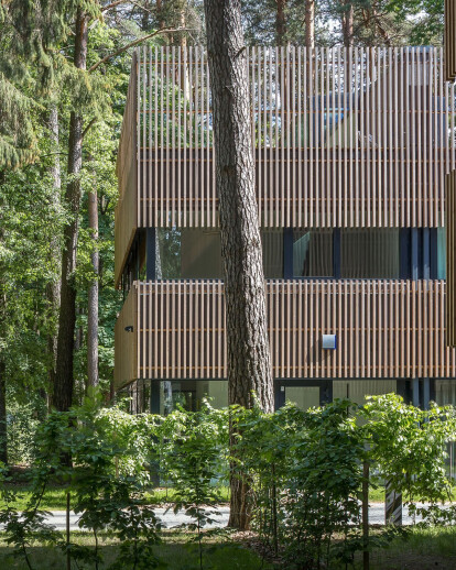 Sustainable Vilnius housing development draws from the tranquility of the forest