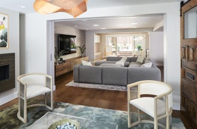 Bright and Flowing Spaces for Comfortable Living
