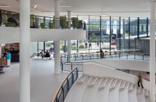 Atrium with stairs