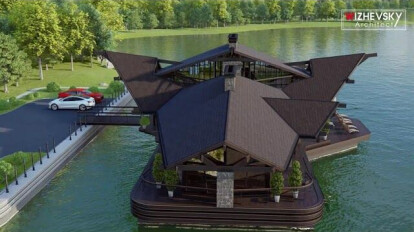 CHALET HOUSE BOAT