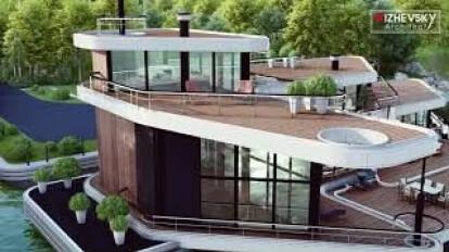 HI-TECK HOUSE BOAT