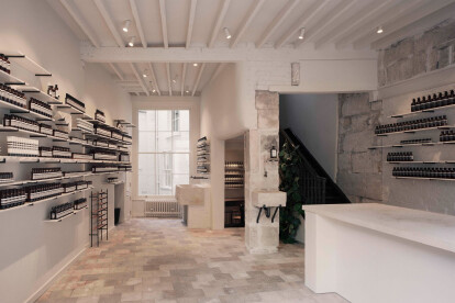 Bath's Aesop New Bond Street Store celebrates Bath stone drawn from the city itself