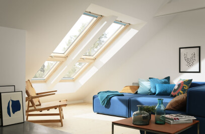 VELUX sloping extension window element GIL