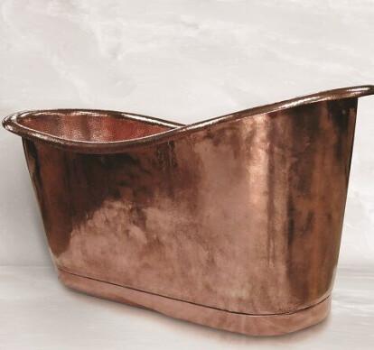 "Freestanding Copper Bathtub ""Regina 62"""