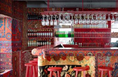 Khachapuri & Wine Interior