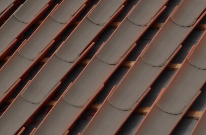 STEP 50/45 ROOF TILE | NATURE BROWN