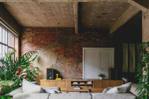 Victorian warehouse apartment sensitively remodelled by Emil Eve Architects