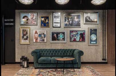 Universal Music Polska office - musical space