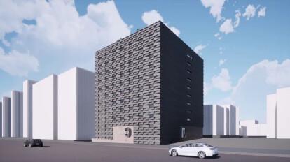 위례 리메드 사옥 건축 계획안_designed by TODOT