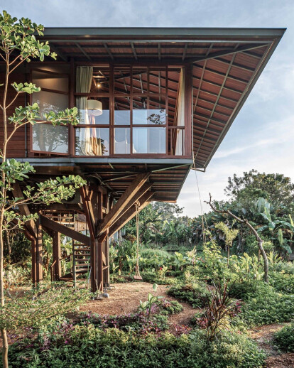 Wooden Treehouse C