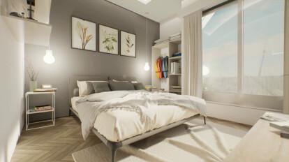 Interior 3D Visualization   Theme Park Residencia - mimAR