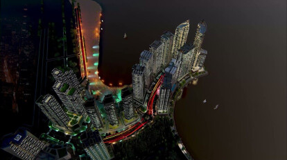 Most Cinematic Architecture View   Night Vision 2021