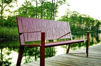 Lakeside Bench
