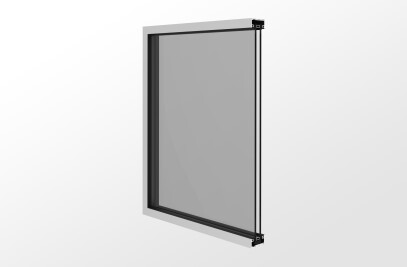 YES 20 Sash Storefront System for Monolithic Glass