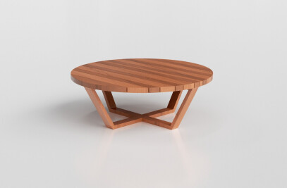 Fusion Round Coffee Table Compact