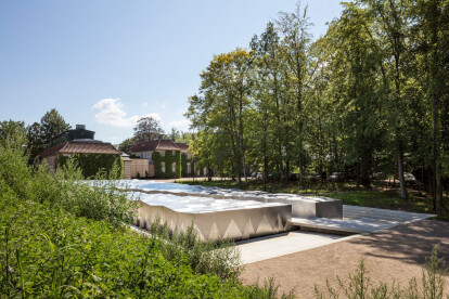 Snøhetta's new extension and landscape for the Ordrupgaard Museum in Denmark inspired by the Impressionist masterpieces it houses