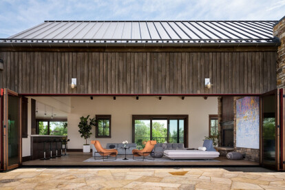 Custom designed Colorado home responds to family living and the lifestyle of the Rocky Mountains