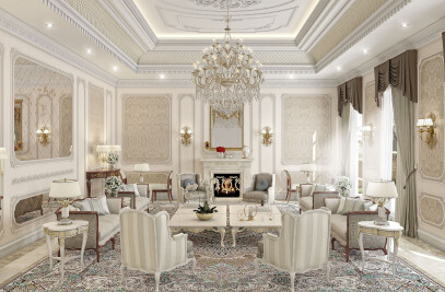 Classic Style Private Residential Villa