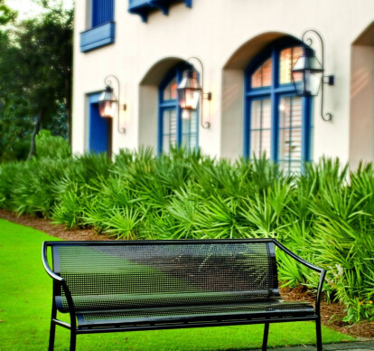Towne Square Bench