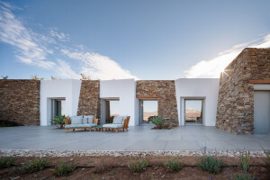 Subterranean Private Villa in Antiparos