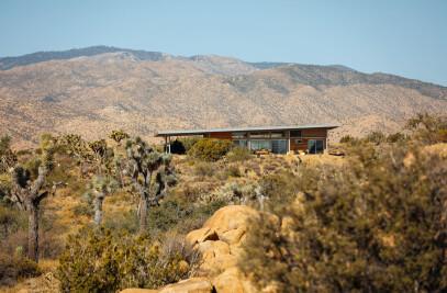 Cowboy Modern Desert Eco-Retreat