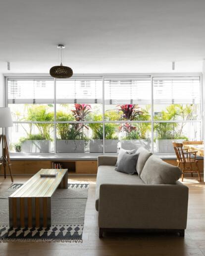 Dalit Lilienthal Interior Design Studio complete a 'boho chic' renovation to a central Tel Aviv apartment