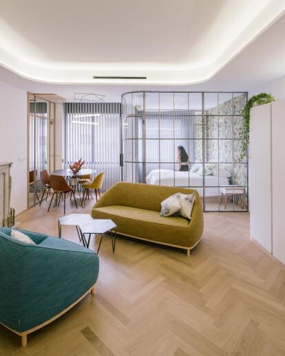 Three Apartments In Madrid