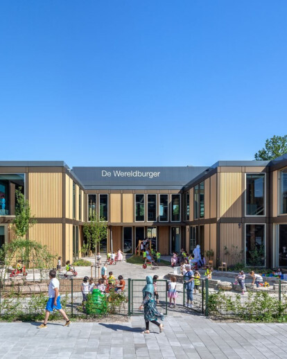 "Elementary school ""De Wereldburger Amsterdam"""