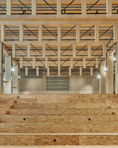 Newly opened Sara Cultural Centre demonstrates the viability of timber as a sustainable and innovative highrise and complex building material