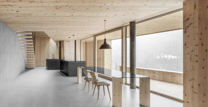 At the Hofmannanger by null17 is a testament to the rural vernacular of South Tyrol