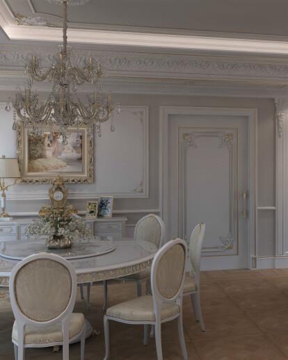 Elegant Interior Design for Luxury Villa