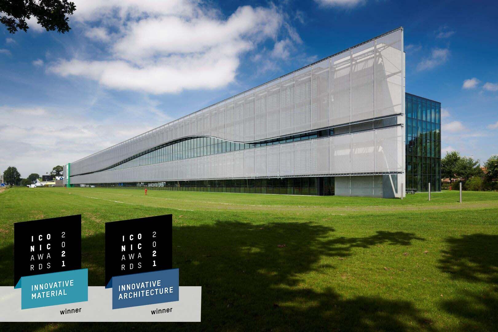 HAVER Architectural Mesh LARGO-TWIST 2045 at FACQ Merelbeke.