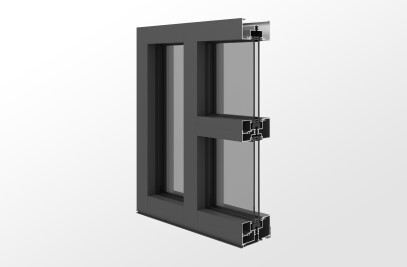 YES 45 FT – Thermally Broken, Center Set Storefront System