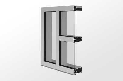 YWW 45 FS High Performance, Front Set Window Wall System