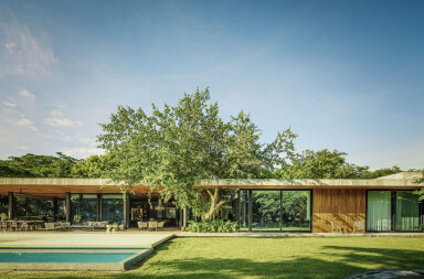 Casa Akúun ideally situated to enjoy the landscape of the Yucatan