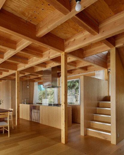 House O by SAKUMAESHIMA designed as a changeable vessel for a growing family