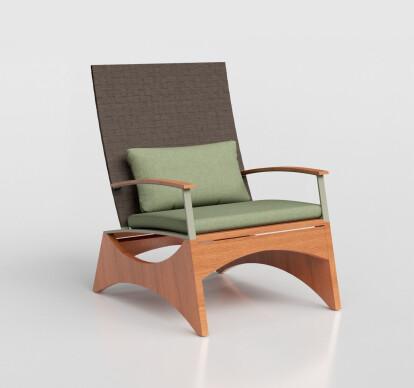 Iaia Lounge Chair ® Standard