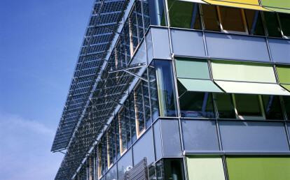 Austria Tourist Information Center Sunshading   Hameln, Germany