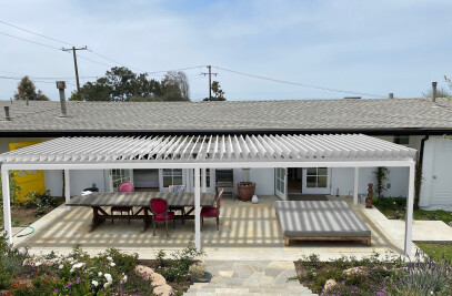 Cospilouvre -Louvered awning system