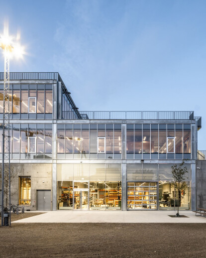 New Aarhus School of Architecture fosters workshop-style learning and spatial concepts