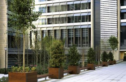 Plaza Planter