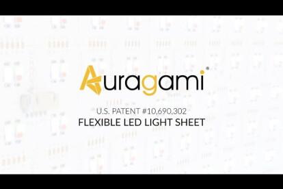 Auragami Flexible LED Light Sheets