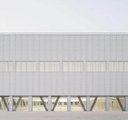 Sports Center for Überlingen School Campus