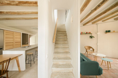 NeuronaLab restore a Spanish farmhouse with careful consideration of existing materials and an infusion of cork insulation